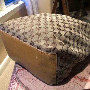 Gucci Bags - Gucci Hobo Bag Monogram GG Purse Tan Large